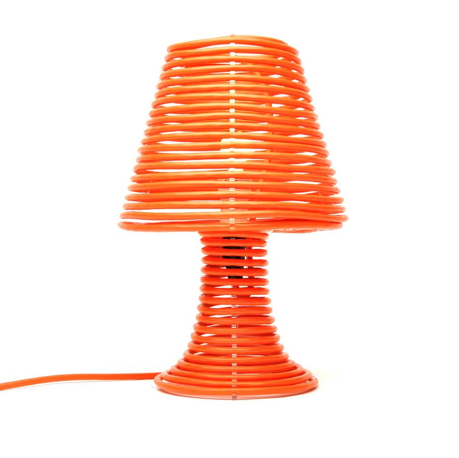 Coil Lamp Craighton Berman Studio Wiring Extension Cord To Light Fixture