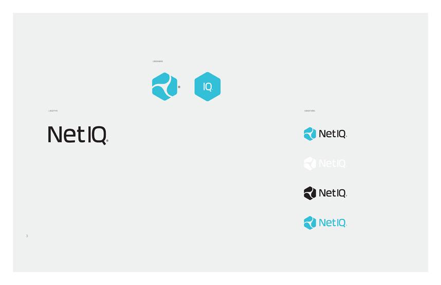 NetIQ Brand Refresh Proposal - Tyler Bingham
