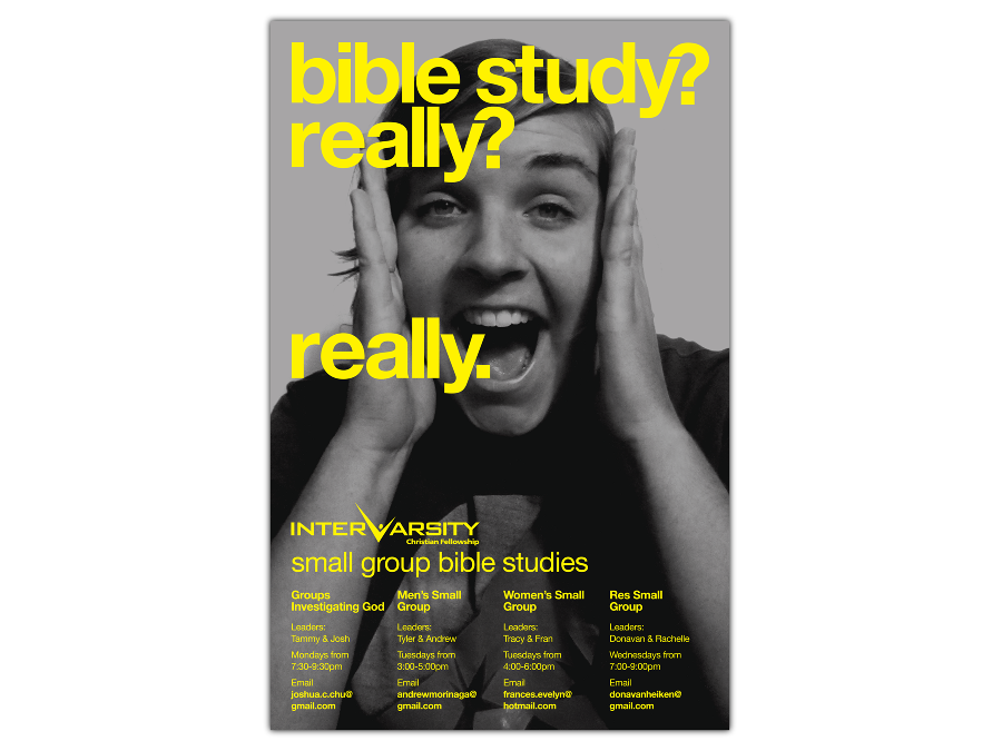 bible study posters