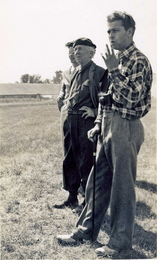 Edgar kaufmann jr for Frank lloyd wright parents
