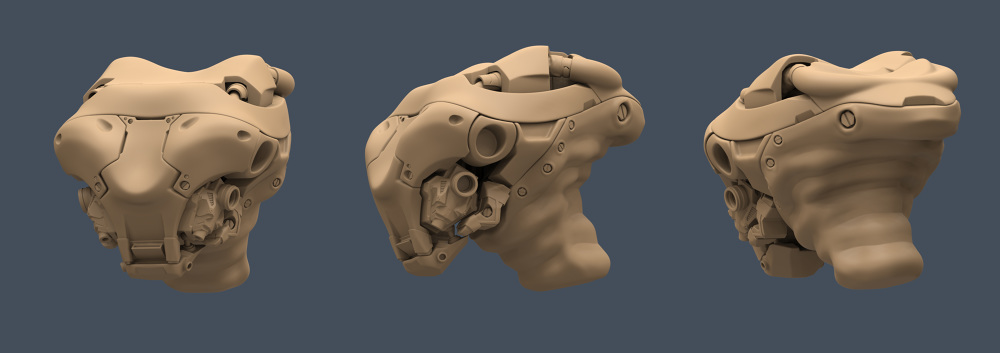 Robohead Sculpt - danielbalzer