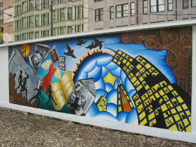 Murals collages stefan johanson for Chicago mural project