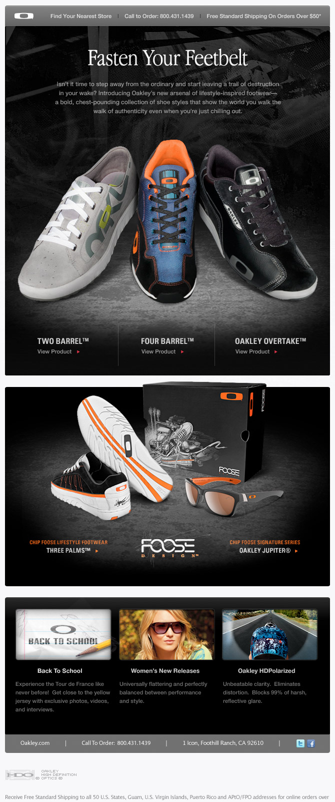 Oakley Email