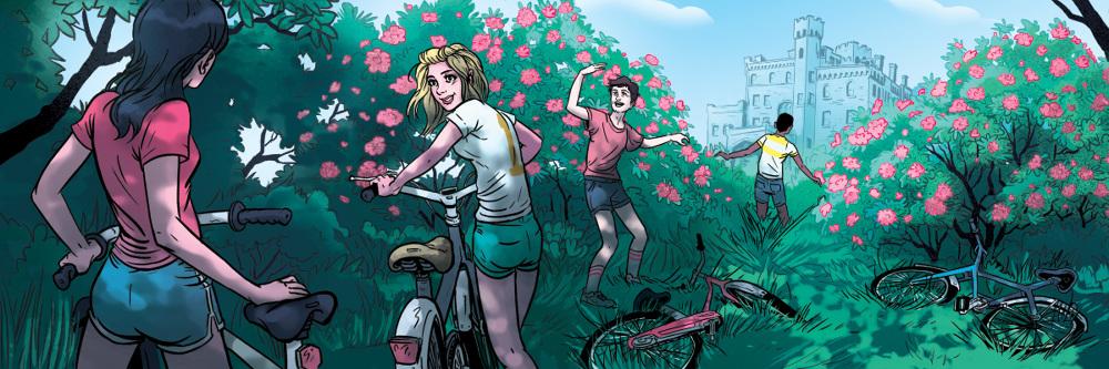 Westchester Magazine - Summer's End - Noah Illustration