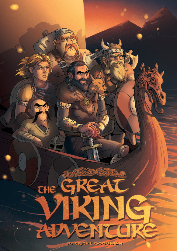 The Great Viking Adventure - Noah Illustration