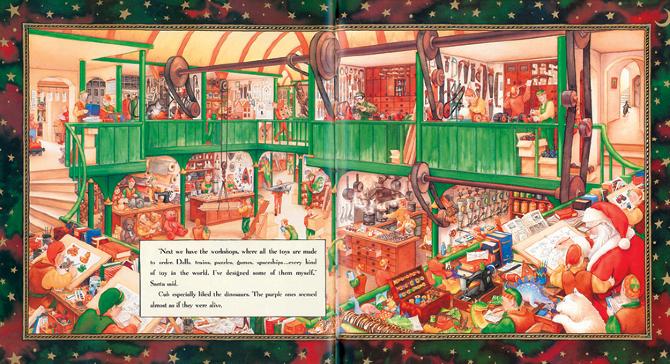 The Christmas Bear Paul Stickland