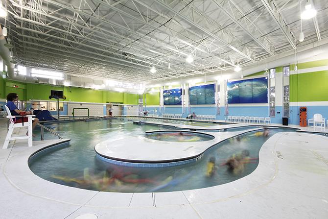 Buffaloe road aquatic center szostak design for Pool design raleigh nc