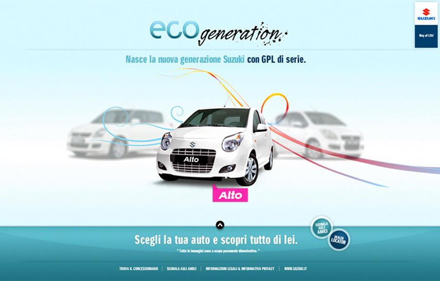 Suzuki Eco Generation - Silvia Desideri - Interactive Art