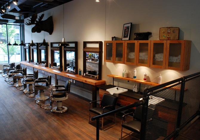 victory barber  u0026 brand  interior