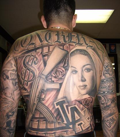 Tommy Montoya Tattoos
