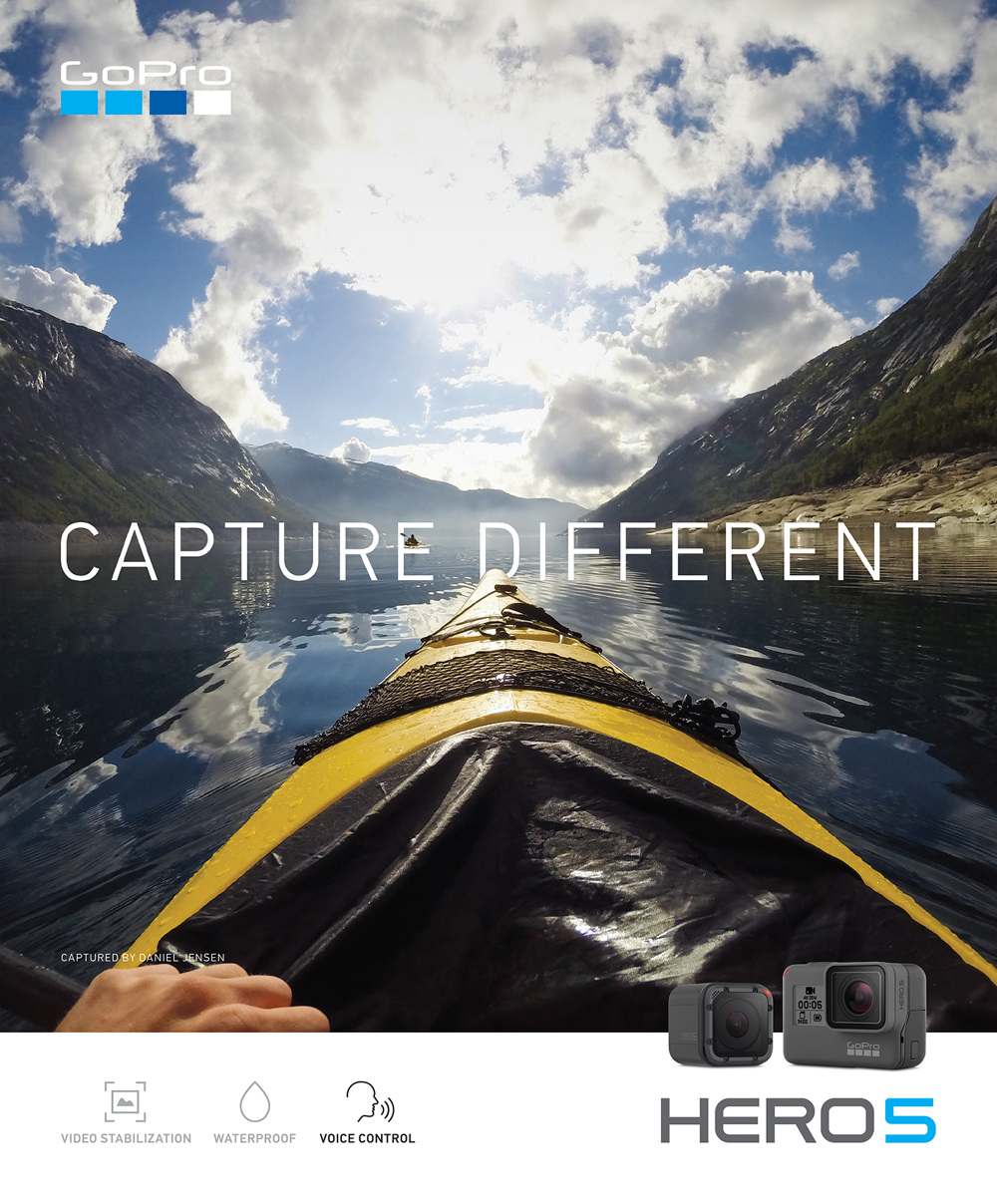 GoPro HERO5 Campaign refunktion Personal network