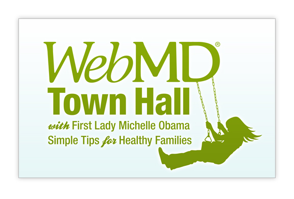 Webmd Town Hall With First Lady Michelle Obama Laurel Knell