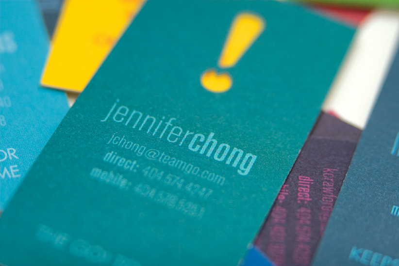 Go business cards jennifer chong jchong studio for Go business cards