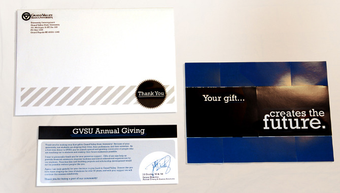 donor thank you card