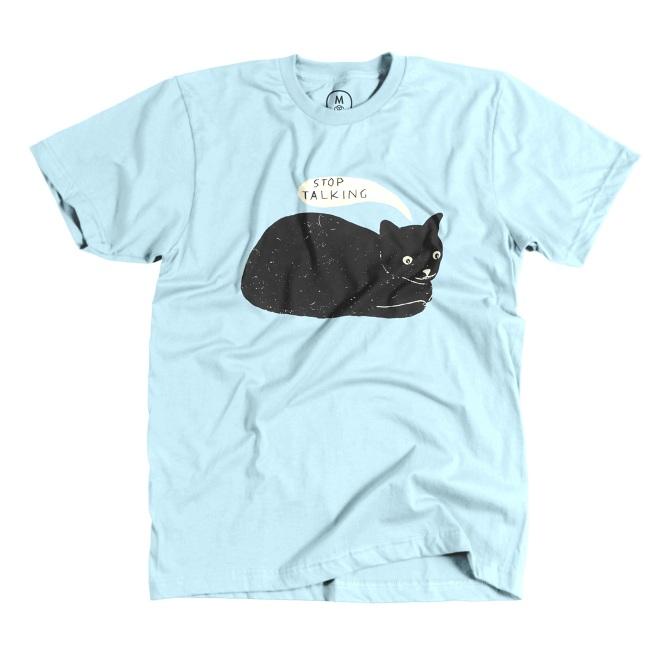 c51289784 Stop Talking T-shirt - martharich