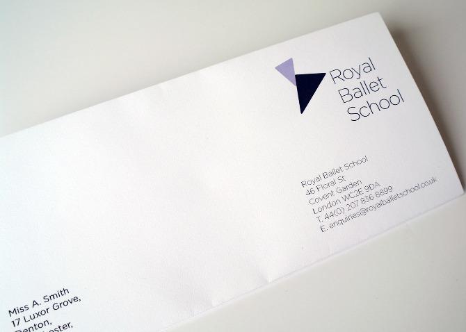 Royal Ballet School Identity - Fleur Design