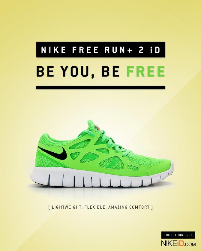 low priced c3c63 2650d Nike Free Run+ 2 iD - Chris Nguyen   Graphic Design