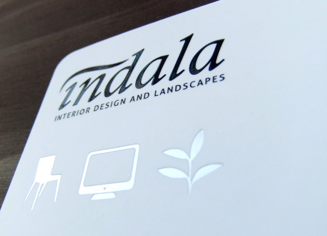 Indala Business Cards