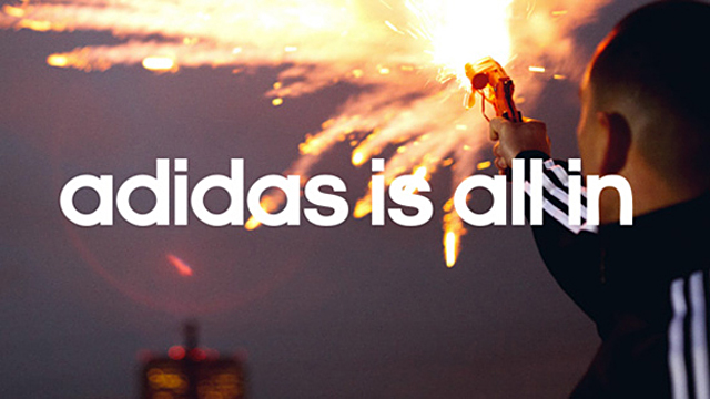 All the Adidas work in 2011 and 2012 has been created under this main  umbrella concept and it is the current tagline that is used worldwide in all  brand ... c8aad9320