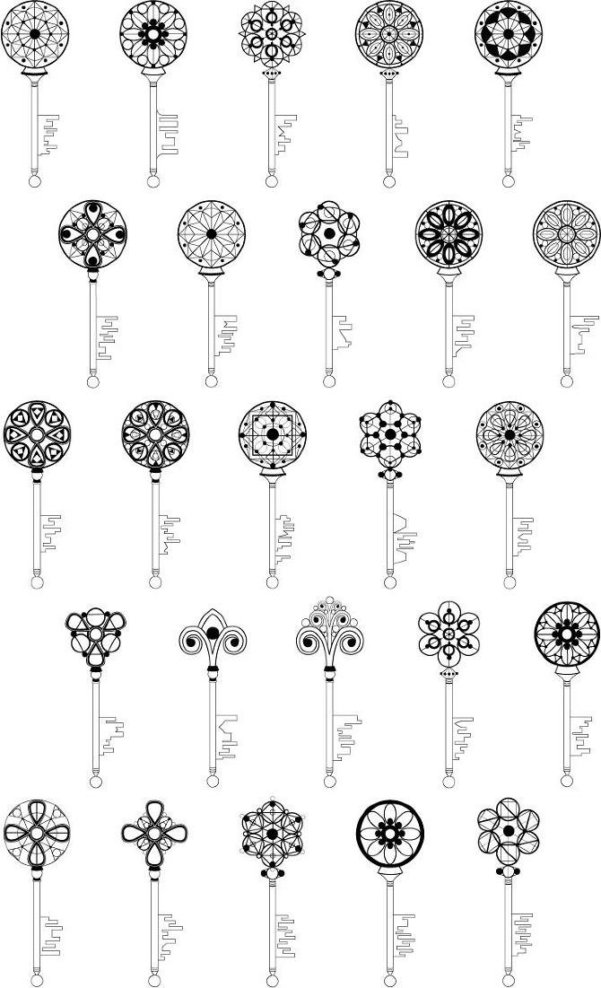 Key Symbology System Dedecker Design