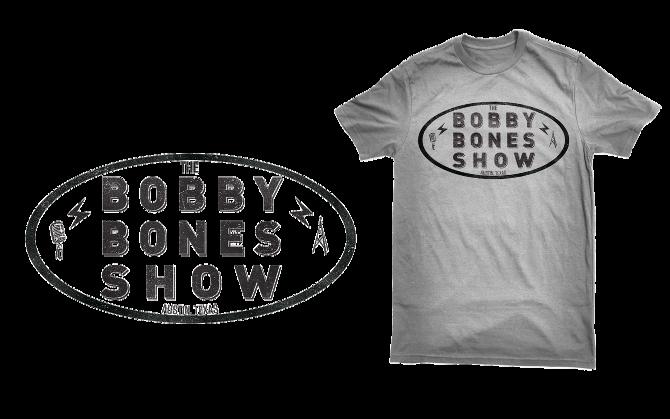 bobby bones show t-shirt - j d  reeves