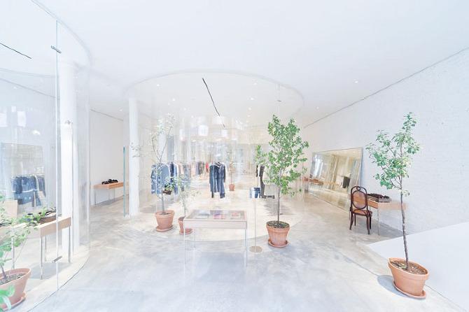 derek lam flagship soho toshihiro oki architect