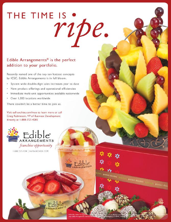 Edible Arrangements Hot Dish Advertising
