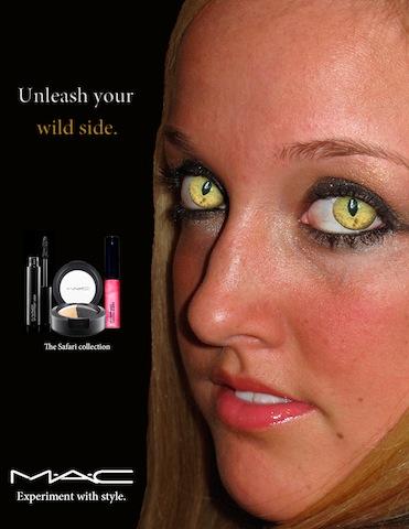 Pics For Gt Mac Makeup Advertisements