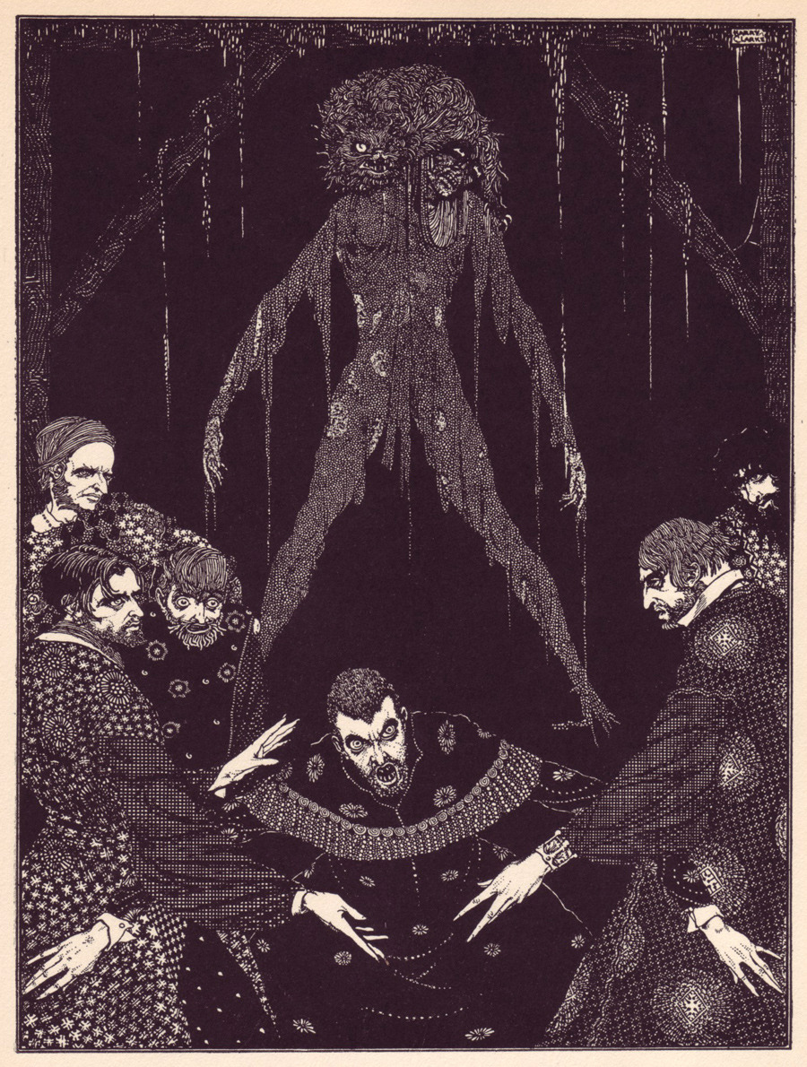 edgar allan poe illustrations - photo #11