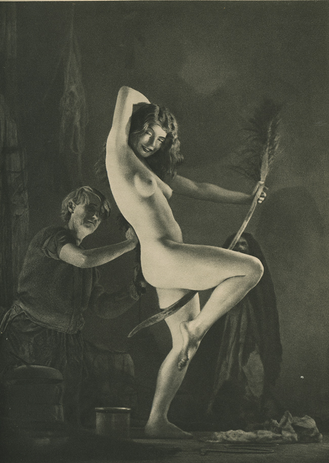 """Preparation for the Sabbath.""  Mortensen, 1936."