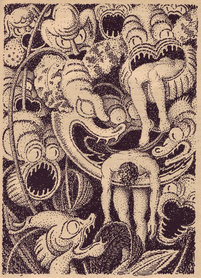 Illustrations From Der Orchideengarten The Worlds First Fantasy