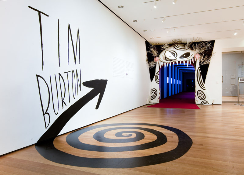 Tim Burton The Department Of Advertising And Graphic Design