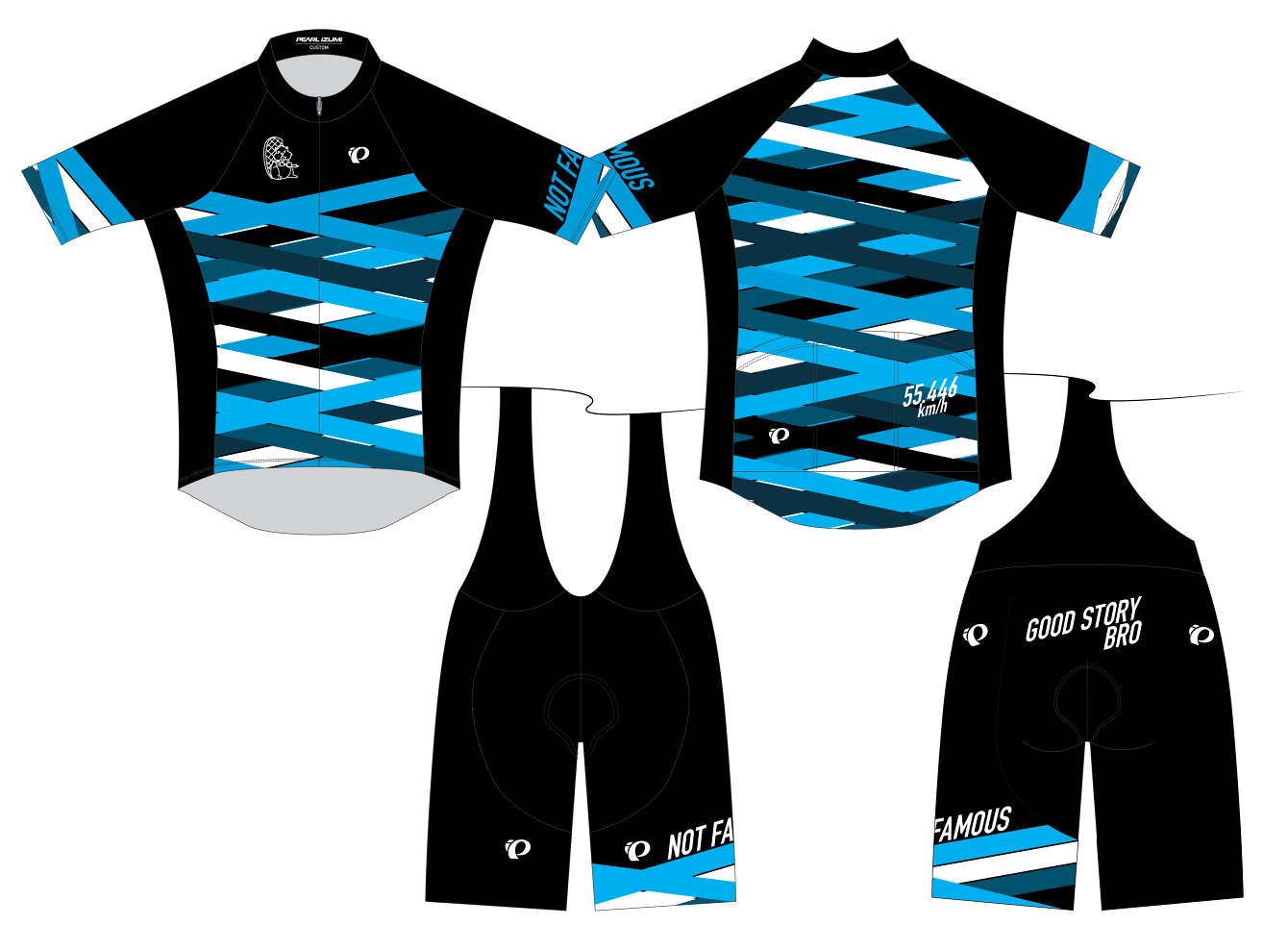 Pearl Izumi Custom Kits Lindsay Martin Design