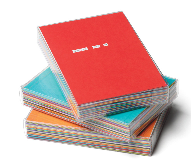 6b67a2a9008cf WAX // Greeting Card Kit - Jonathan Herman // Graphic Design ...