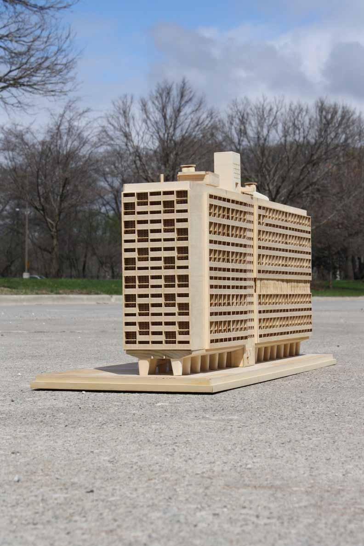 Unite d 39 habitation model andrea baker architecture design portfolio - Toulousaine d habitation ...