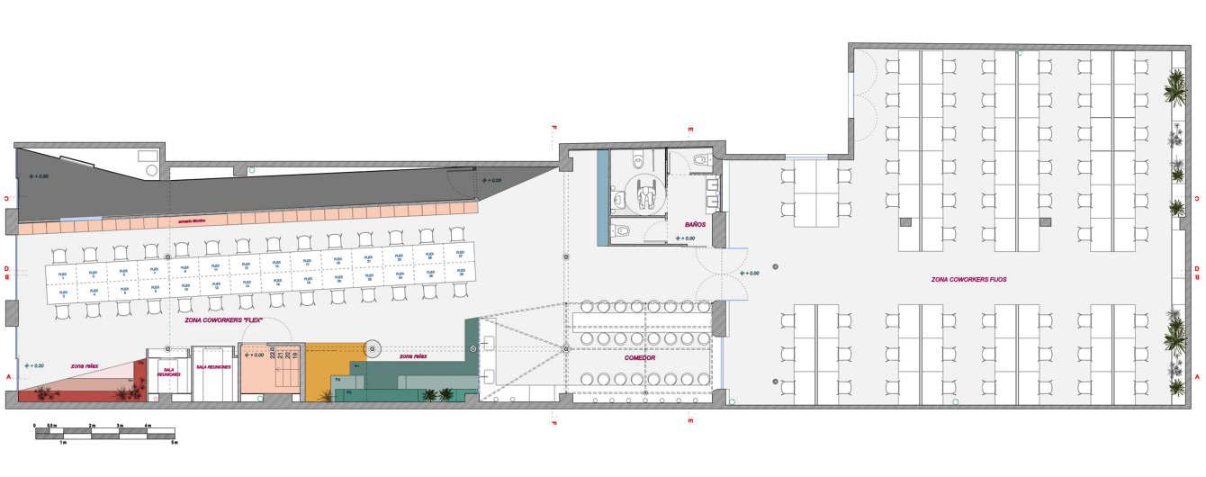 Crec Coworking Barcelona Spain Casa Colombo And Serboli Architecture