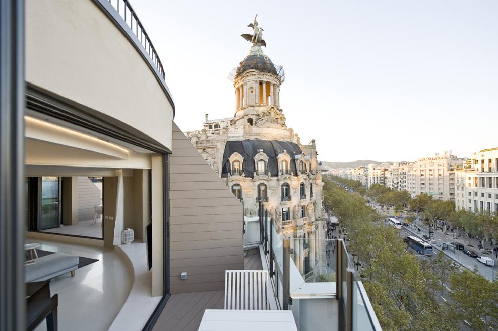 Paseo De Gracia Penthouse Barcelona Spain Casa Colombo
