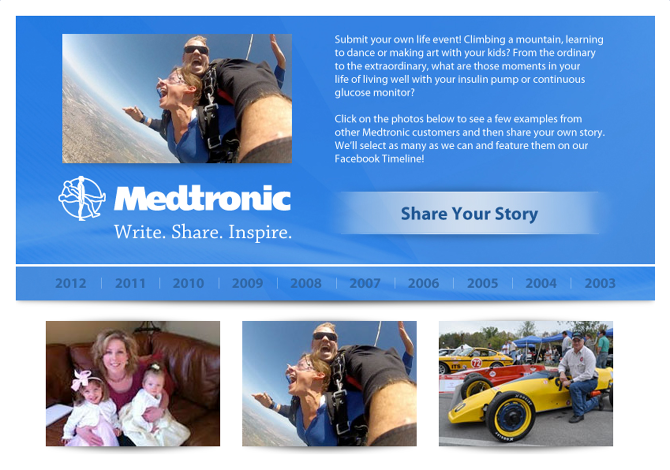 Medtronic Share Your Story App - Ike Brooker