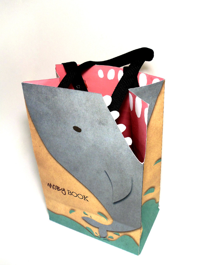 moby book shopping bag park that design
