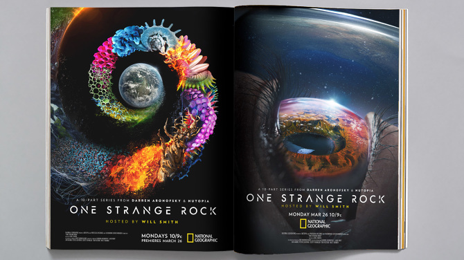 One Strange Rock - Brian Everett | Creative Direction