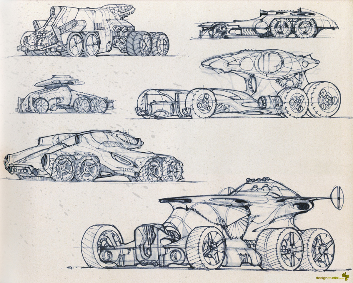 54 Best Images About Designers Sketches: Scott Robertson On Pinterest   Bikes, Spaceships And Workshop