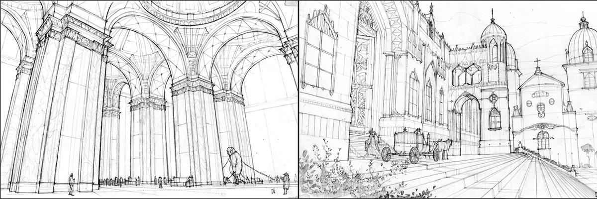 Drawing Lines In Libgdx : Perspective drawings danny gardner