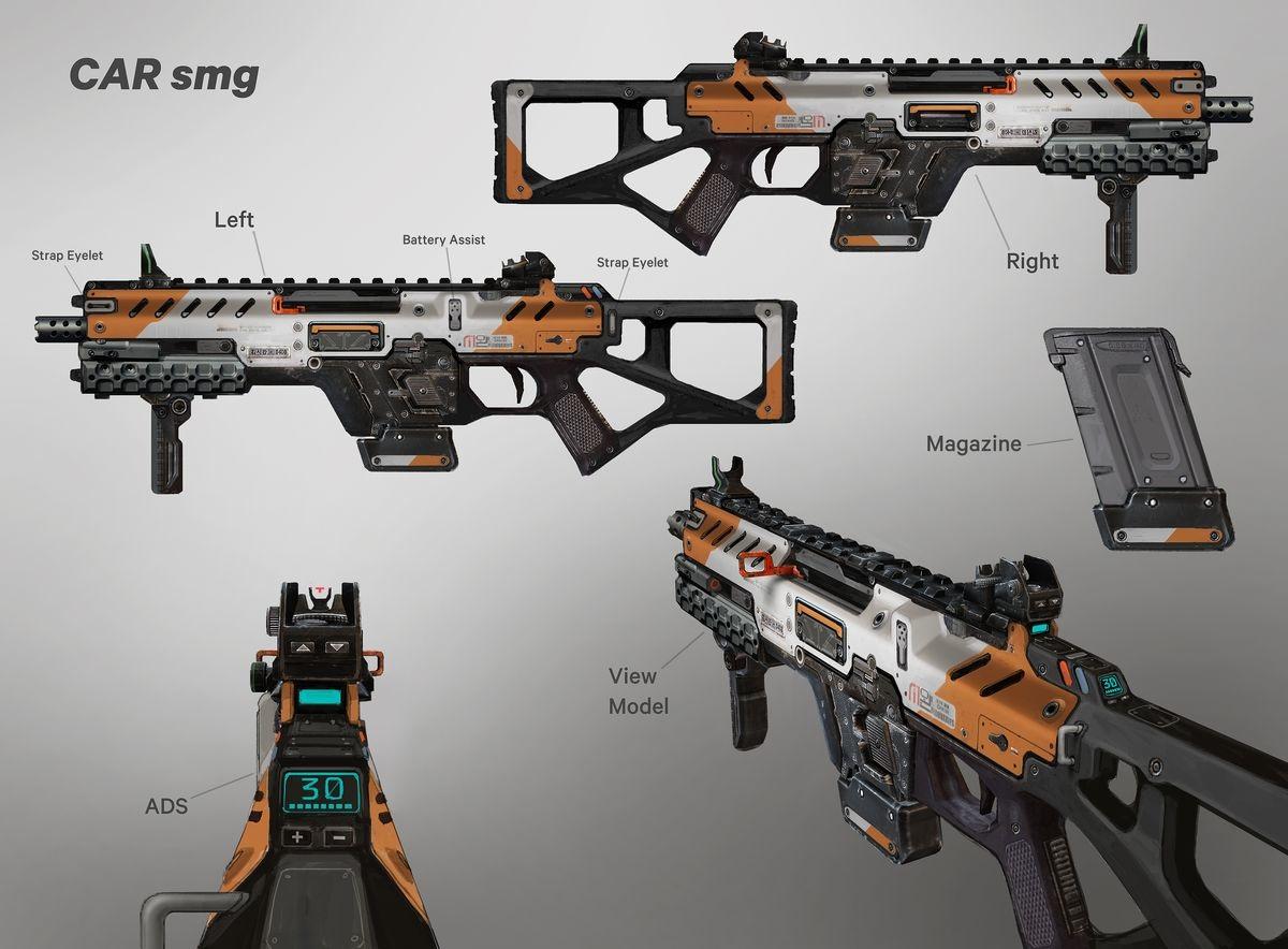 Titanfall 2 Weapons - dannydraws.com - Personal network
