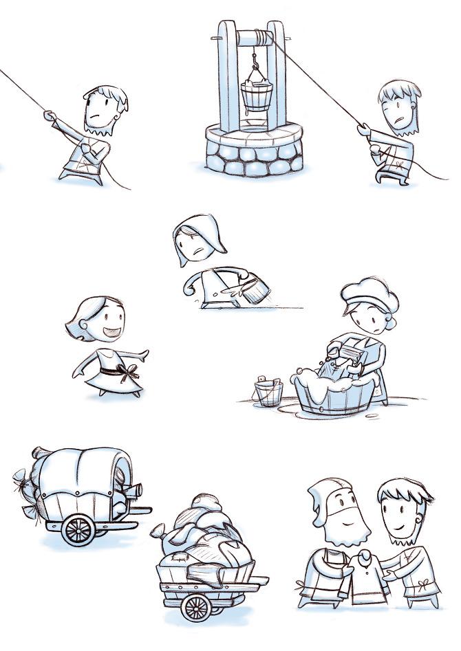 Character Design History : Characters short for kid s tv ingrid aspöck