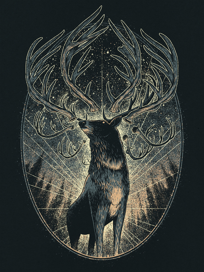 Deer King The Art Of Brian Luong
