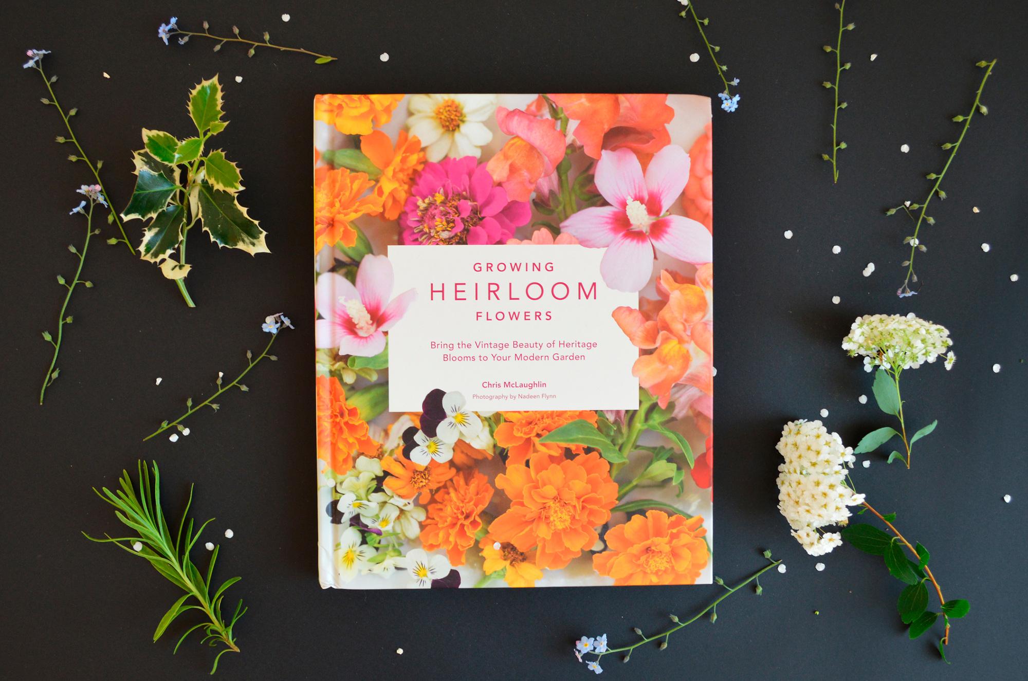 Growing Heirloom Flowers Evelin Kasikov Art Direction Graphic