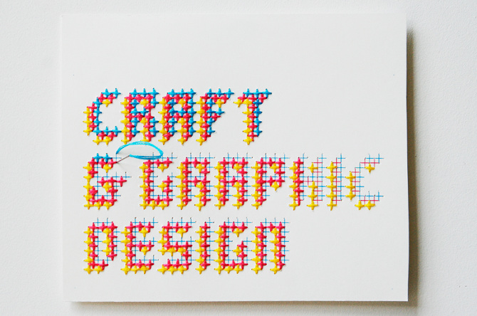 Craft Graphic Design Evelin Kasikov Art Direction Graphic