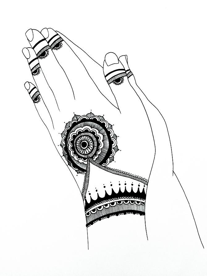 Henna Hands Gurjeet Jheeta