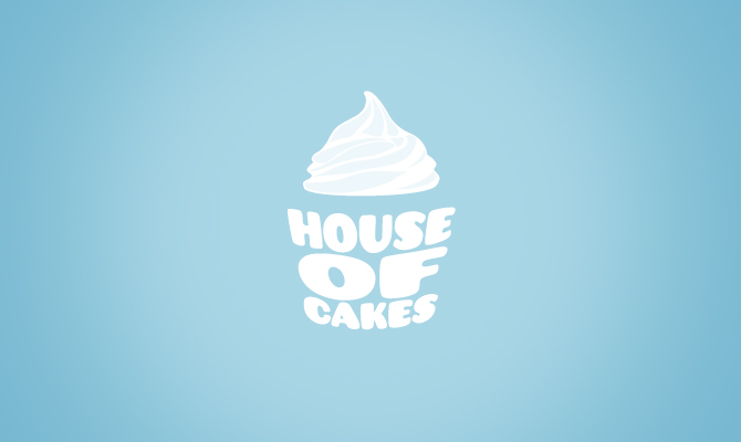 House Of Cakes Mark Lenthall Branding Design