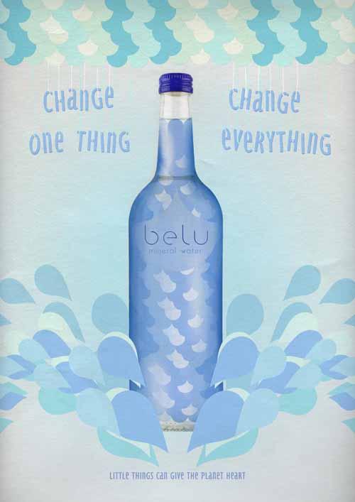 Just Water for Belu - Mariona Wesselo Portfolio
